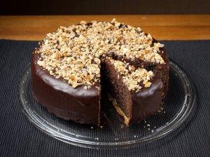 Šokoladinis aguonų pyragas
