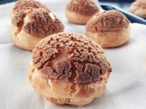 Profiterolės arba prancūziški plikytos tešlos pyragaičiai