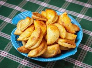 Varškės ir obuolių sausainiai