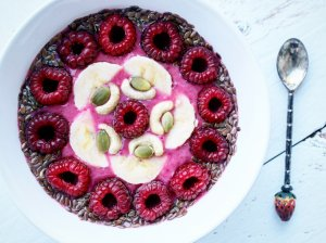 "Avietinis ""Smoothie bowl"""