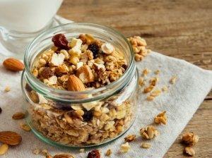 Labai skani naminė granola