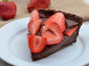 Burnoje tirpstantis šokoladinis pyragas be miltų