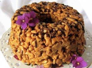 Karamelinis krekerių tortas