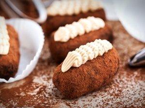 """Šokoladiniai pyragaičiai """"bulvytės"""" iš vaikystės"""