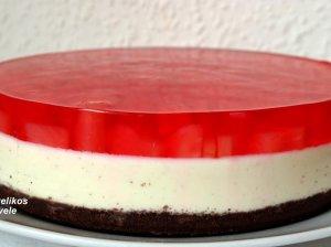 Nekeptas gaivus varškės tortas