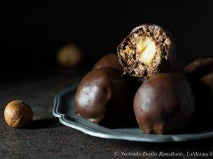 Naminiai Ferrero Rocher triufeliai saldainiai