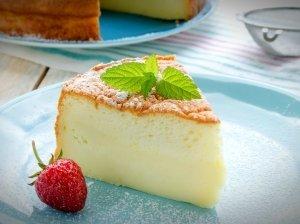 Japoniškas varškės pyragas - be galo purus ir skanus