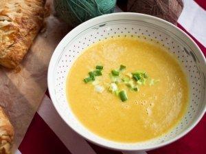 Trinta bulvių ir salierų sriuba - jauki ir sušildanti