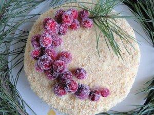 Biskvitinis medaus tortas