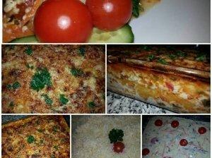 Skanioji lazanija su sūrio padažu
