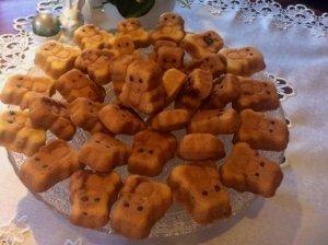 """Žavingi sausainiai meškučiai """"Barniai"""""""