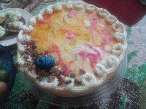 Lengvai pagaminamas švetinis tortukas su jogurtiniu kremu