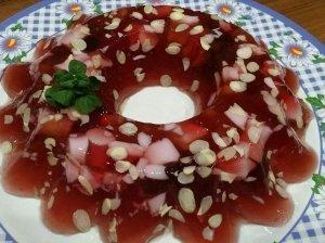 Sulčių želės desertas