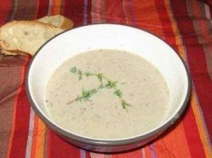 Pievagrybių sriuba-kremas