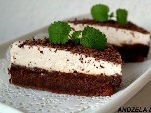 Šokoladinis maskarponės pyragas su Nutella sluoksniu