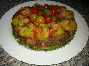 Maltos mėsos tortas
