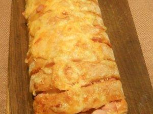 Pusrytinė įdaryta čiabatos duonelė lengvai ir greitai
