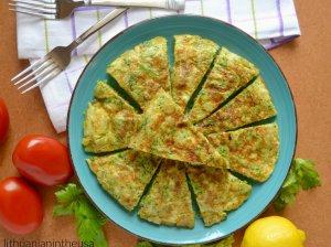 Ispaniška brokolių tortilija