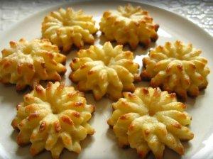 Gražūs varškiniai sausainiai