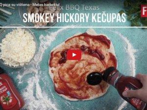 Teksaso BBQ pica su vištiena