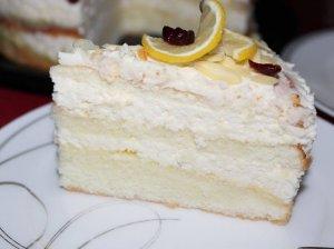 Dieviškai skanus citrininis maskarponės tortas
