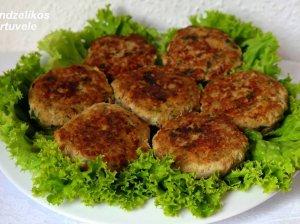 Sultingi mėsos kotletai su cukinija - be miltų ir džiūvėsėlių