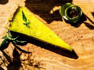 Gaivus žaliųjų citrinų pyragas