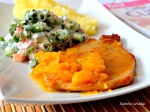 Apelsininė kiauliena - tobulai skani ir greitai pagaminama