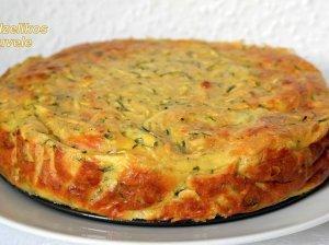Cukinijų pyragas su vištiena - sotus ir lengvai pagaminamas