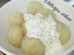 Šilkiniai bulvių kukuliai kaip vaikystėje