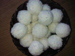 Sveikuoliški saldainiai su varške ir kokosu