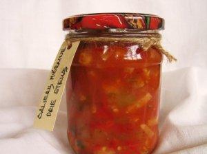 Cukijų, pomidorų ir salierų mišrainė žiemai - tobulai tinka prie mėsos