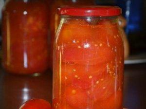 Savo sultyse marinuoti pomidorai be sterilizavimo