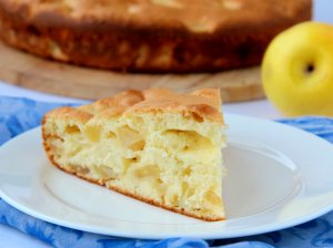 Purus obuolių pyragas