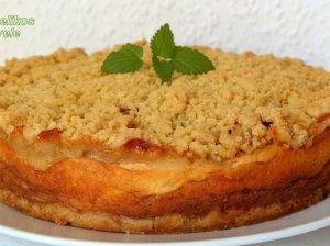 Be galo skanus trupininis varškės ir obuolių pyragas