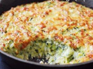 Cukinijų ir ryžių apkepas Julia Child