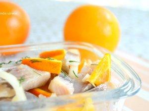 Naminė marinuota silkė su apelsinais - be galo skani!