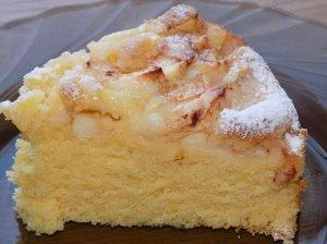 Purus obuolių pyragas pagal Loretą