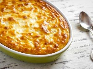Virtų bulvių ir varškės apkepas - labai skanus!