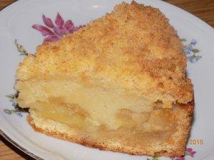 Karališkas obuolių pyragas su grietine