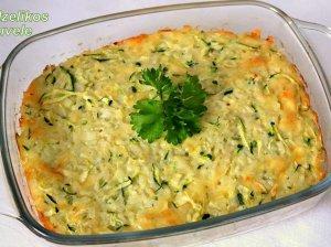 Cukinijų ir ryžių apkepas