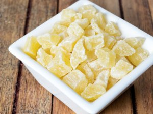 Džiovinti cukinijų saldainiai