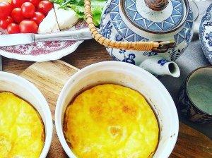 Purus omletas orkaitėje