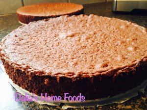 Šokoladinis biskvitas tortui