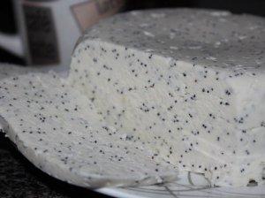 Desertinis varškės sūris su aguonomis
