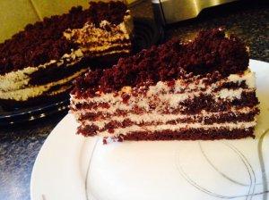 Šokoladinis tortas Praha