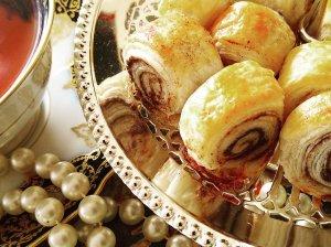 Greiti sluoksniuotos tešlos sausainiai
