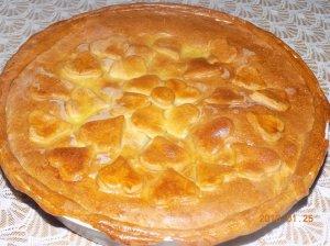 Kefyro pyragas su vištiena