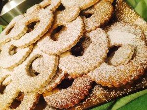 Sviestiniai sausainiai Žiedeliai