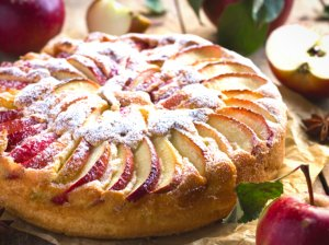 Grietininis obuolių pyragas - minkštutis ir tirpstantis burnoje